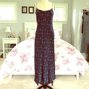 NWOT VINCE. Floral Silk Midi Slip Dress